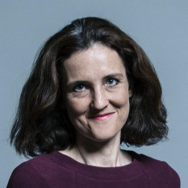 Theresa Villiers - UK Parliament official portraits 2017.