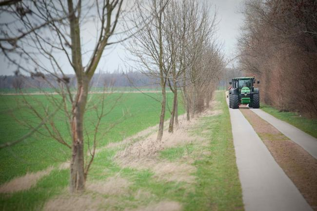 The Bridgestone VX Tractor tour