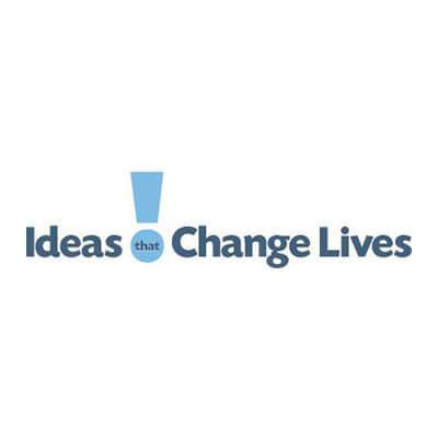 Ideas that change lives logo