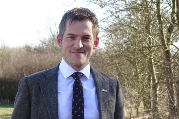 Adam Bedford regional director for NFU.