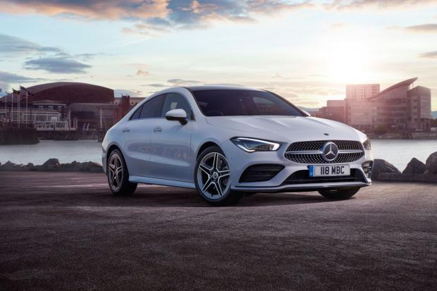 Mercedes CLA Coupe 200